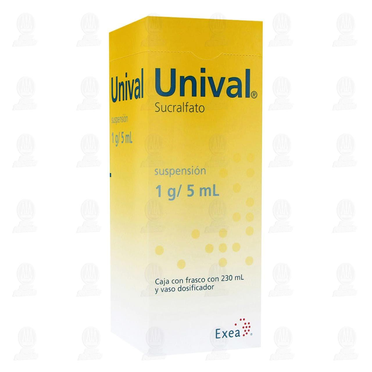 Comprar Unival Suspensión 1gr/5ml 230ml en Farmacias Guadalajara