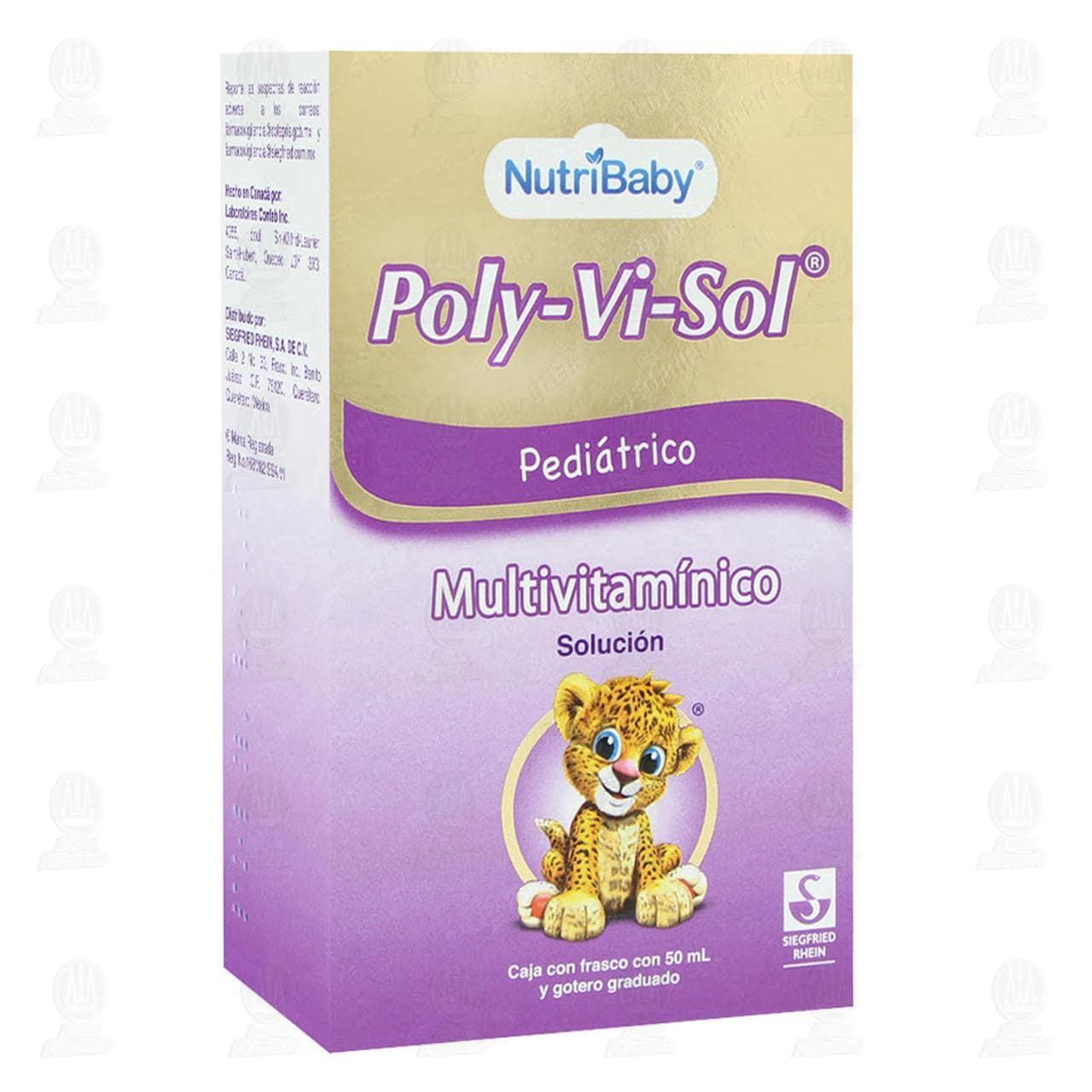 Comprar Poly-Vi-Sol 50ml Solución Pediátrico Gotas en Farmacias Guadalajara