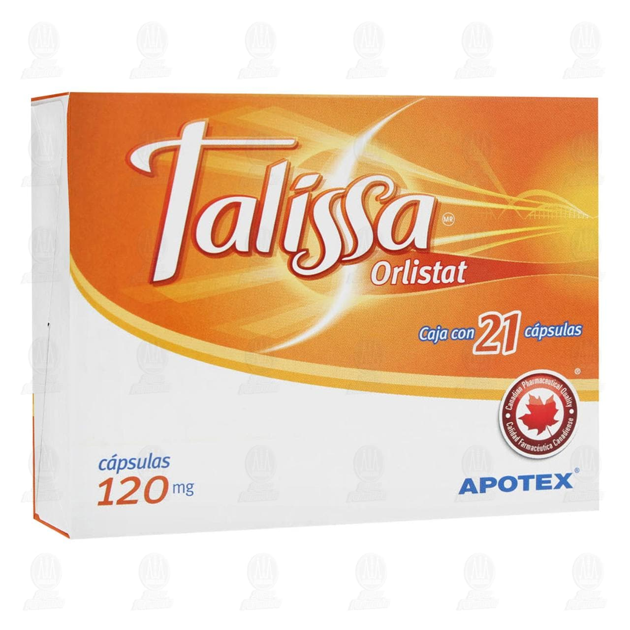 Comprar Talissa 120mg 21 Cápsulas en Farmacias Guadalajara