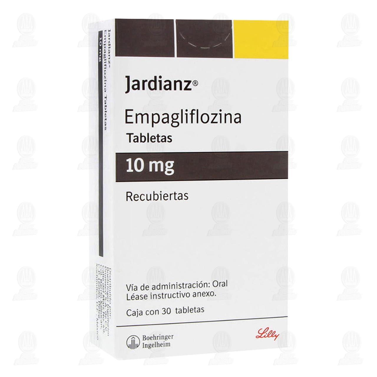 Comprar Jardianz 10mg 30 Tabletas Recubiertas en Farmacias Guadalajara