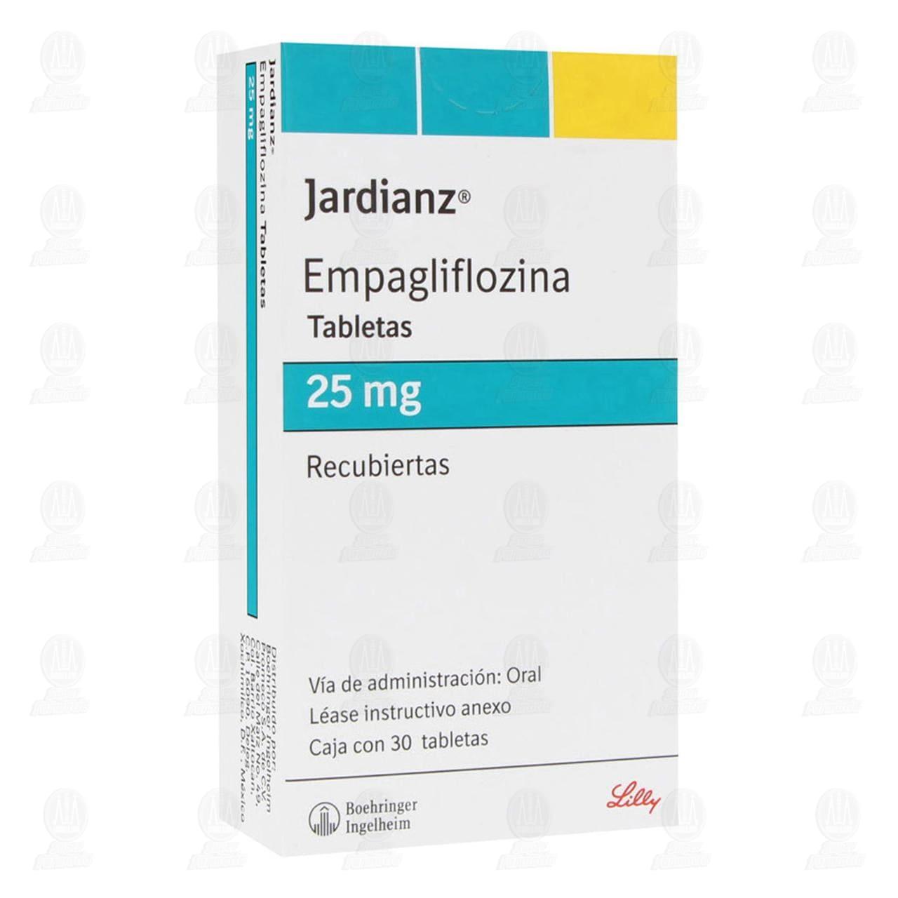 Jardianz 25mg 30 Tabletas Recubiertas