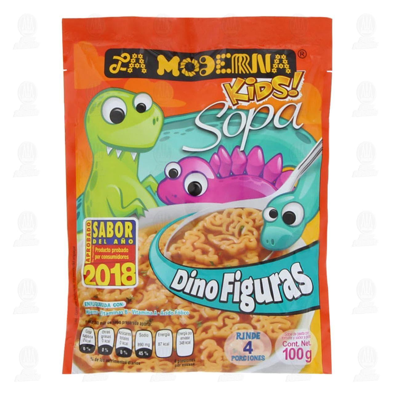 Sopa La Moderna Kids Dinofiguras, 100 gr.