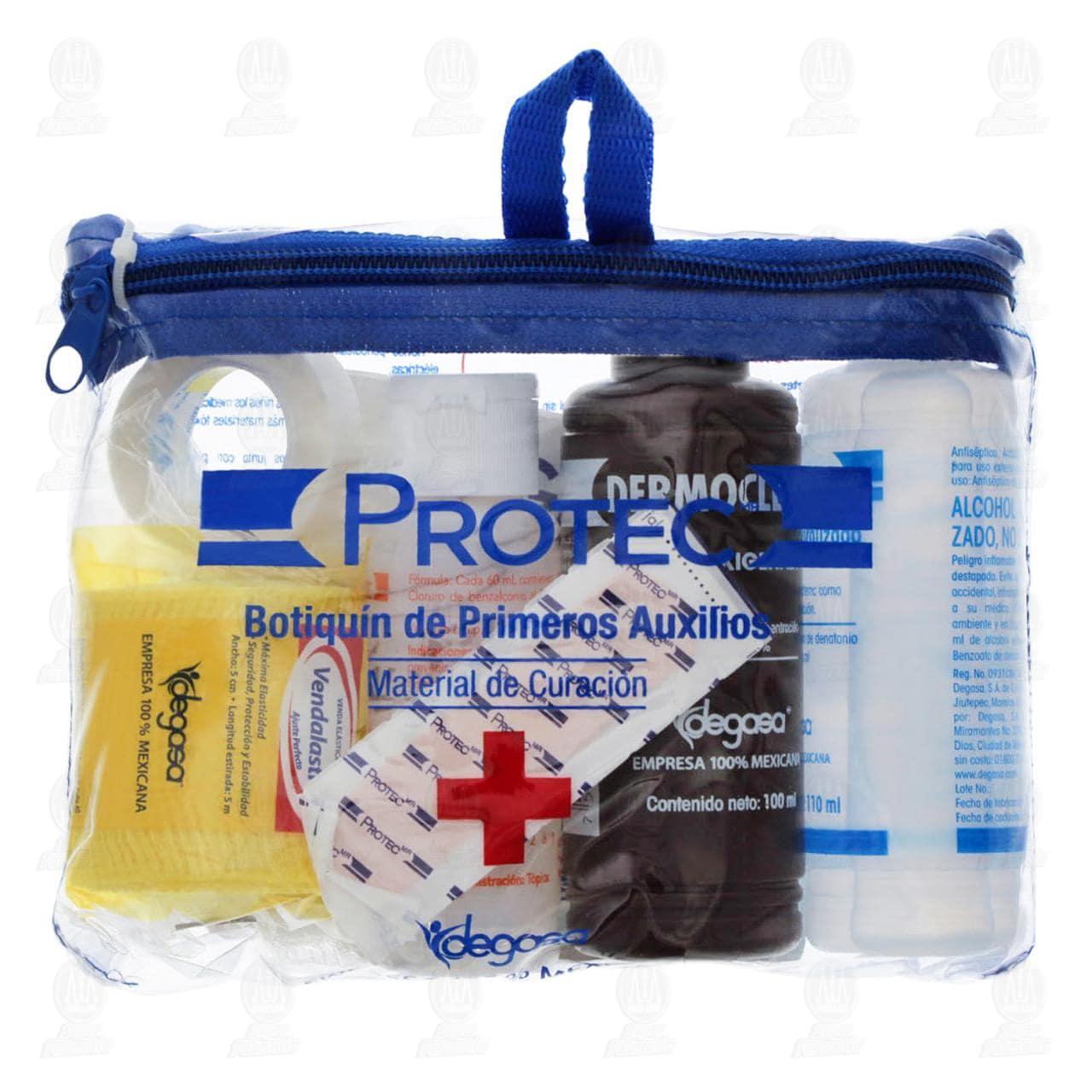 Comprar Botiquín Primeros Auxilios Protec 8pzas en Farmacias Guadalajara