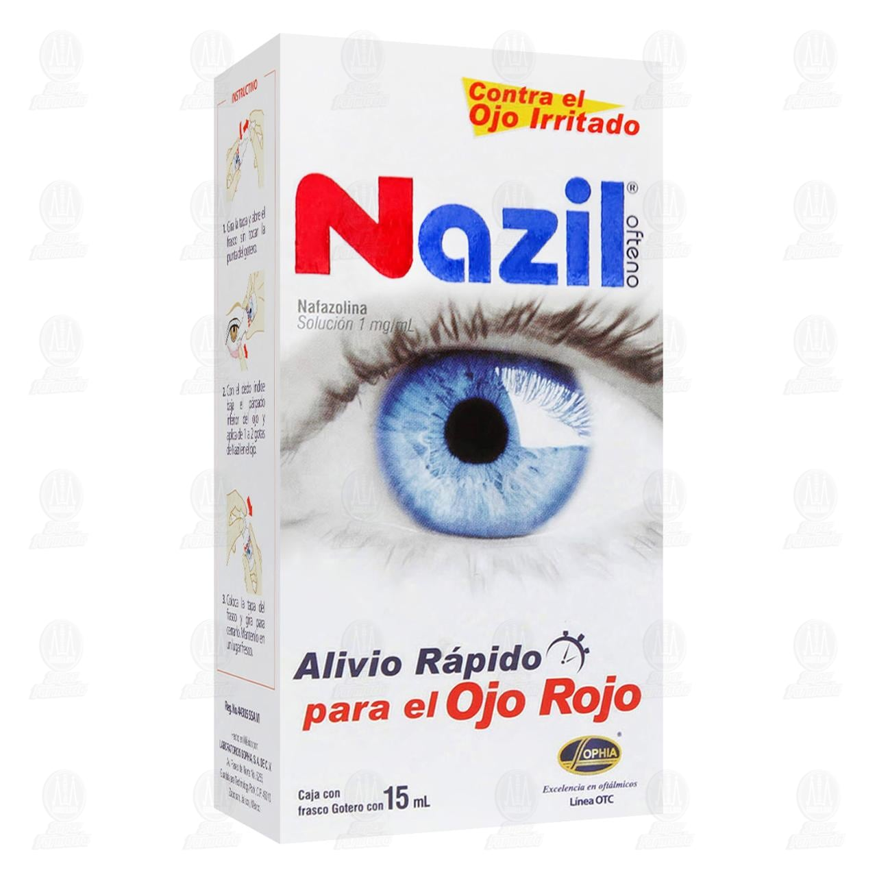 Comprar Nazil Ofteno 1mg/ml 15ml Solución Gotas en Farmacias Guadalajara