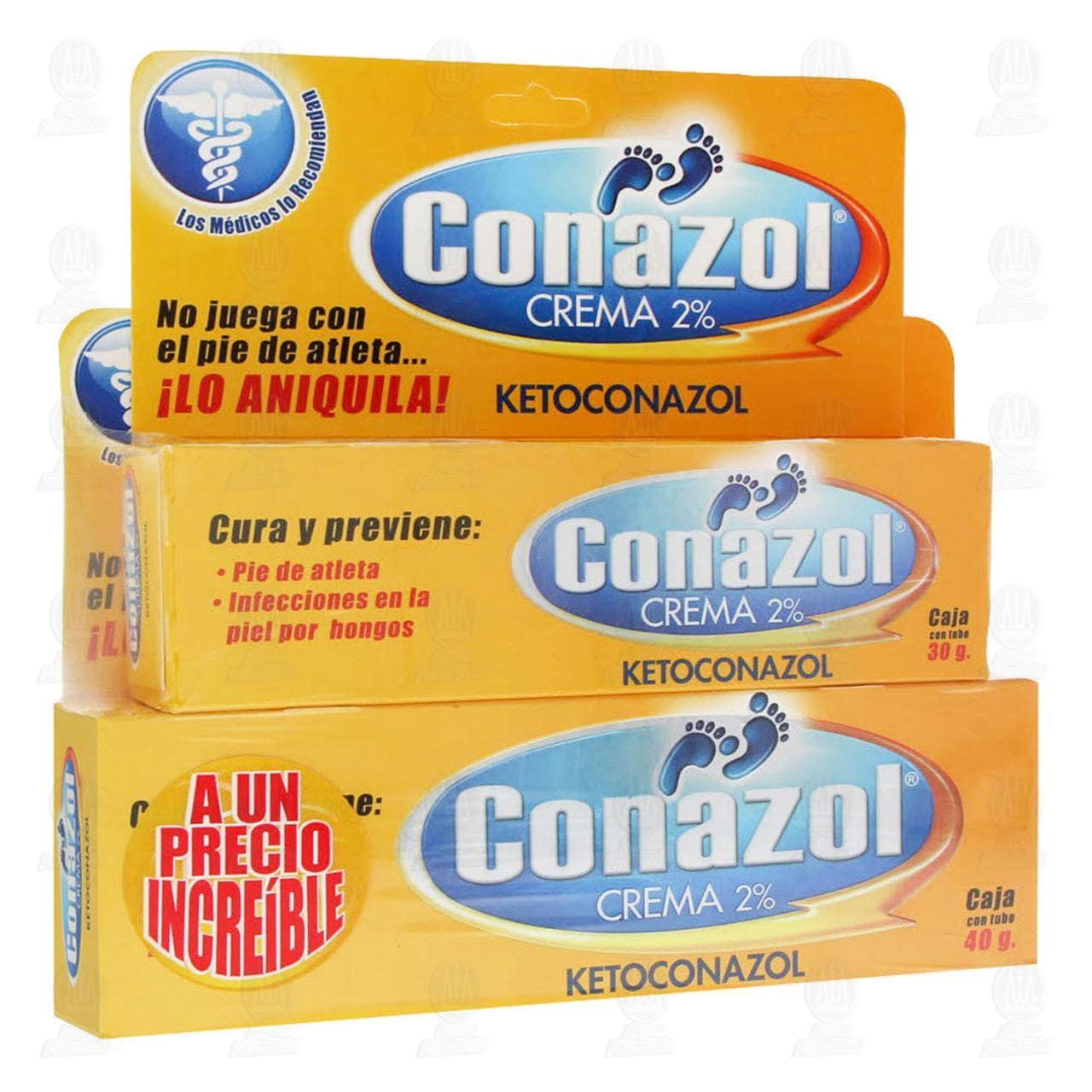 Comprar Conazol Crema 40gr +30gr en Farmacias Guadalajara