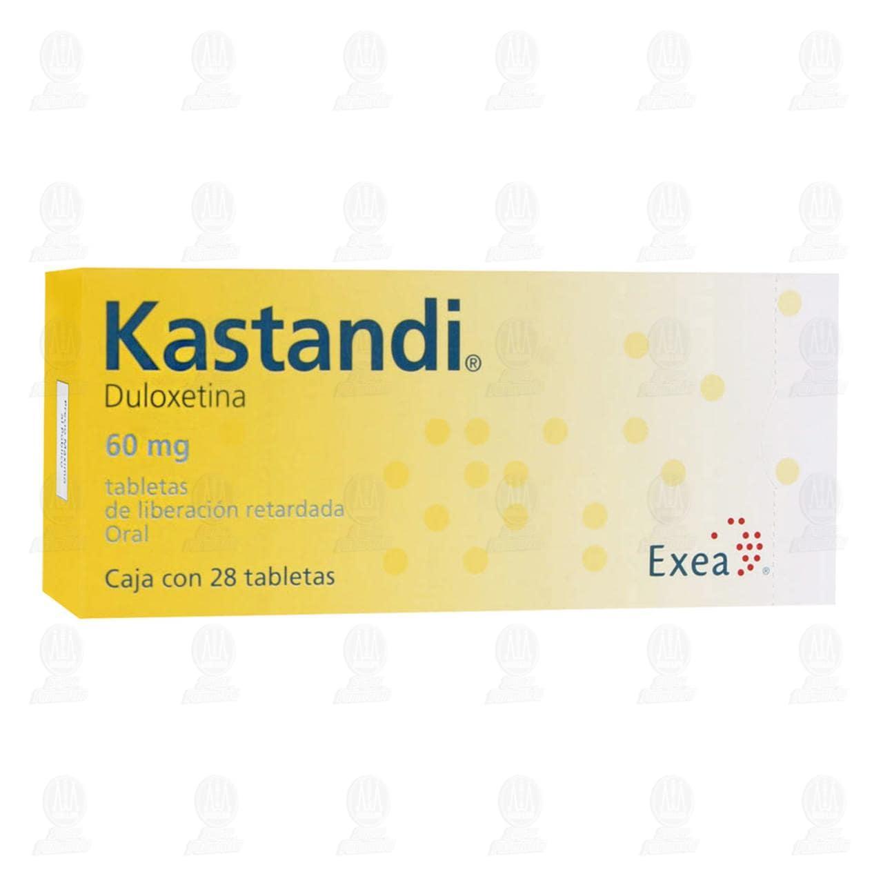 Comprar Kastandi 60mg 28 Tabletas en Farmacias Guadalajara