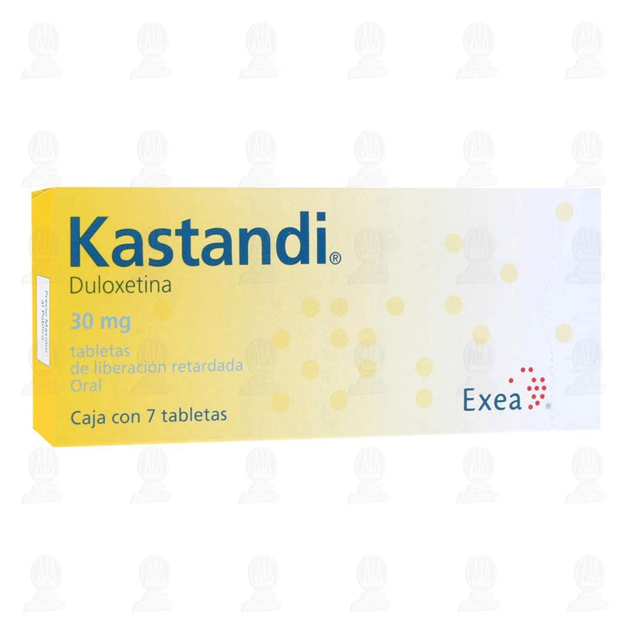 Comprar Kastandi 30mg 7 Tabletas en Farmacias Guadalajara