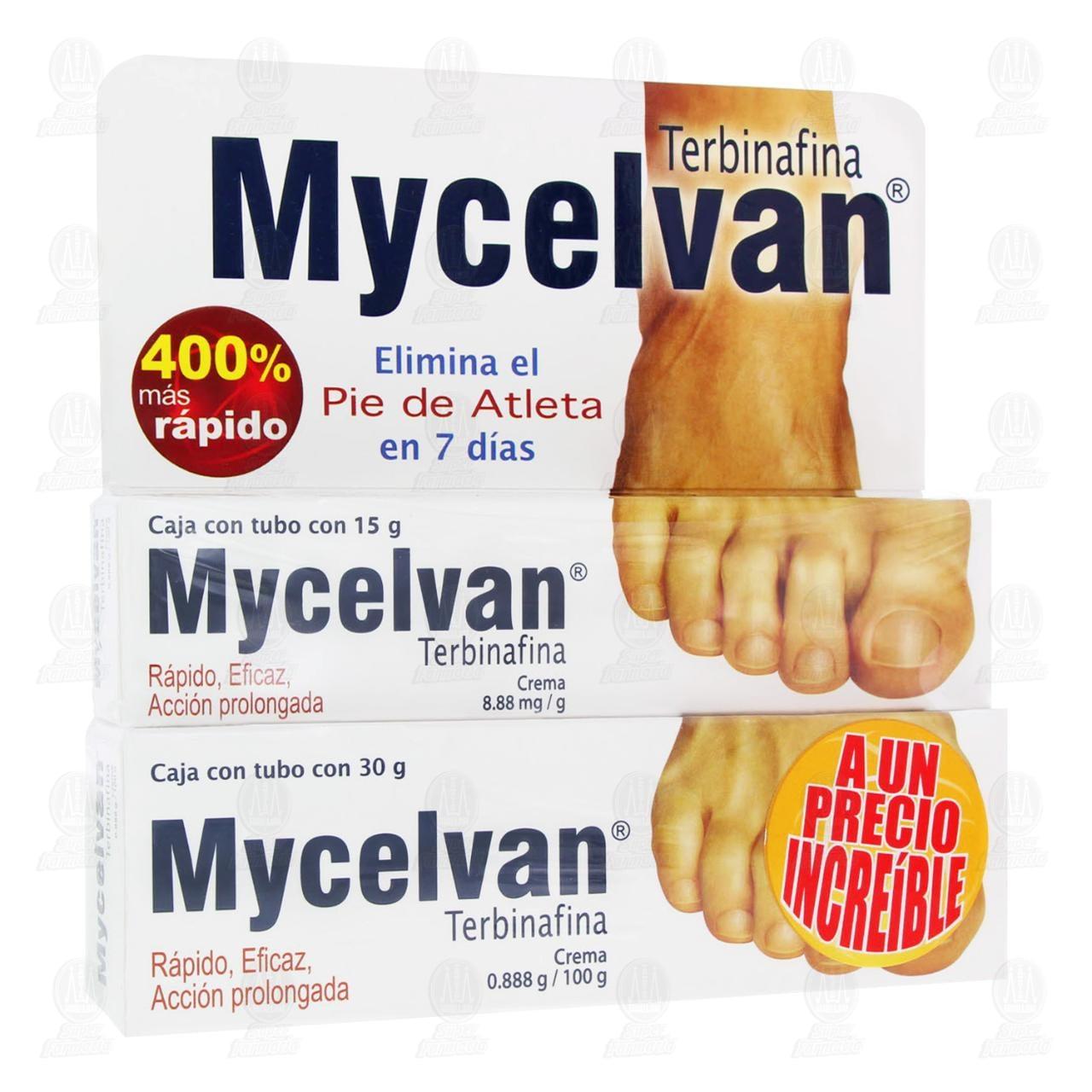 Comprar Mycelvan Crema 30gr + 15gr en Farmacias Guadalajara