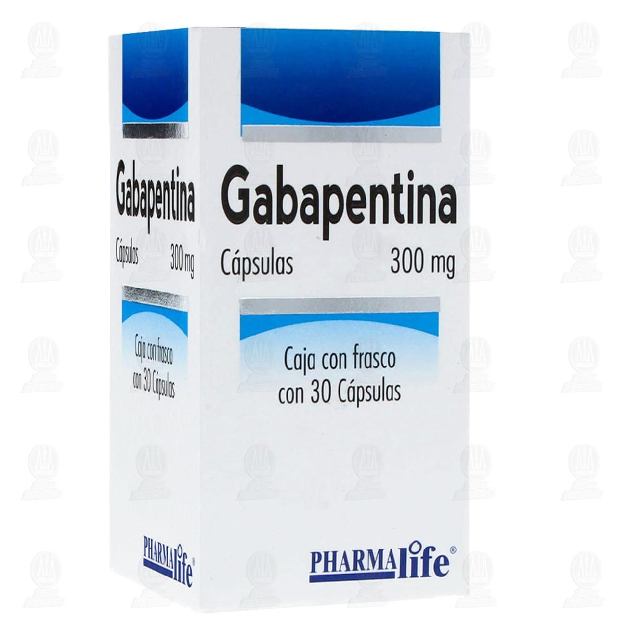 Comprar Gabapentina 300mg 30 Cápsulas Pharmalife en Farmacias Guadalajara