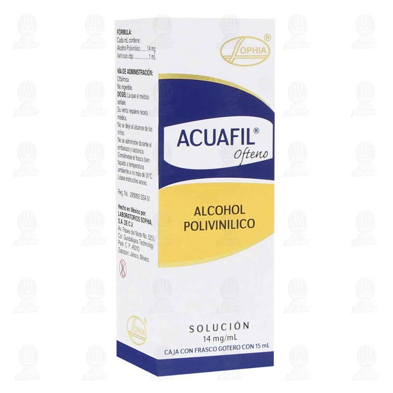 Comprar Acuafil Ofteno 14mg/ml 15ml Solución Gotas en Farmacias Guadalajara