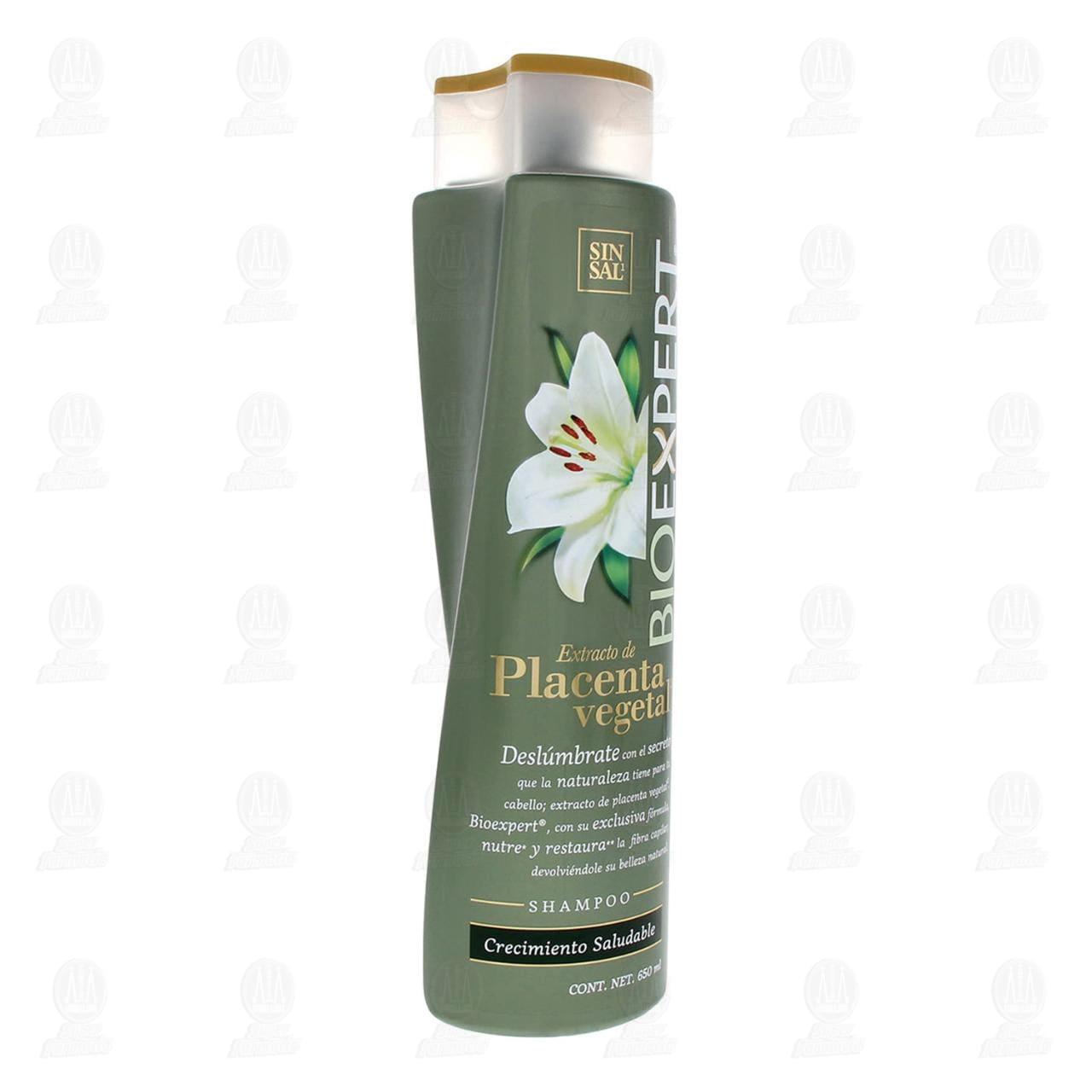 Comprar Shampoo Bioexpert Extracto de Placenta Vegetal, 650 ml. en Farmacias Guadalajara