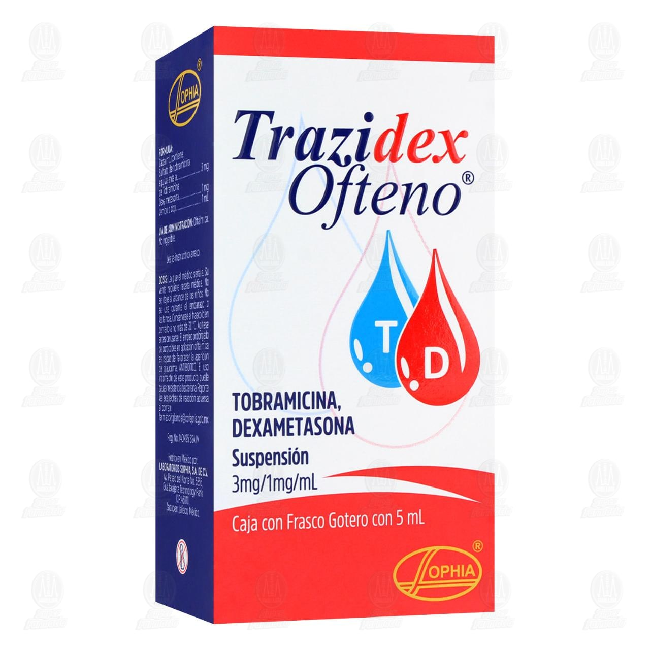 Trazidex Ofteno 5ml Suspensión Gotas