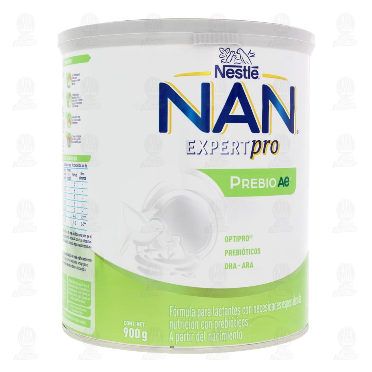 Comprar Fórmula Infantil NAN Expert Pro Prebio Ae (A Partir del Nacimiento), 900 gr. en Farmacias Guadalajara