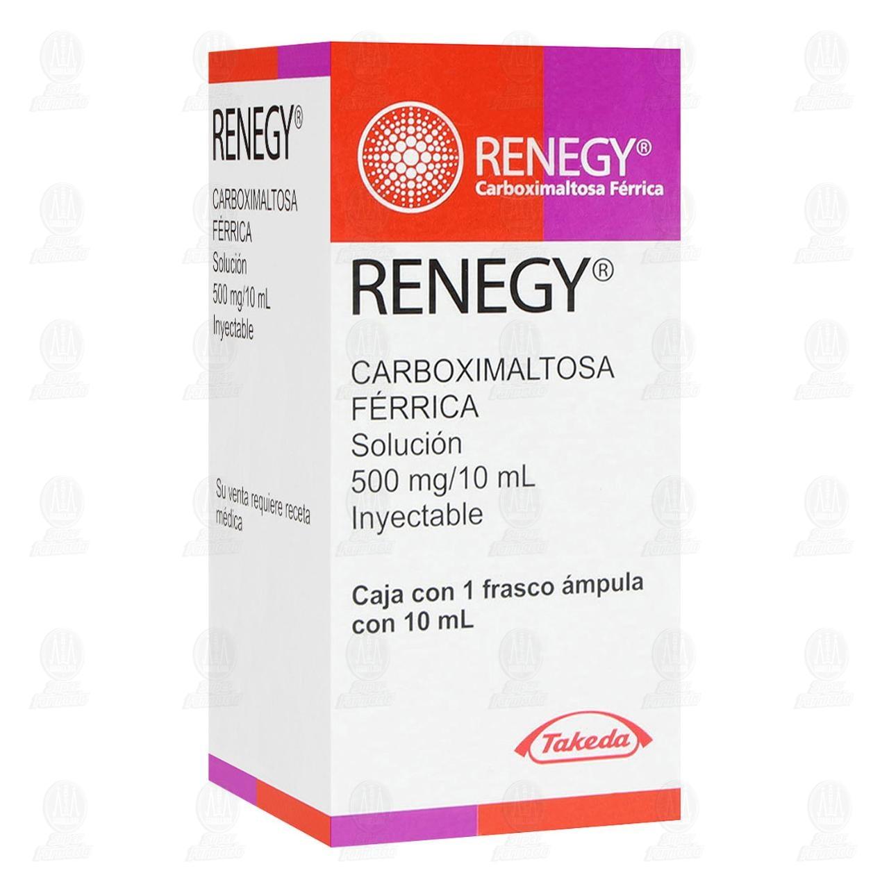Renegy 500mg/10ml Solución Inyectable Frasco