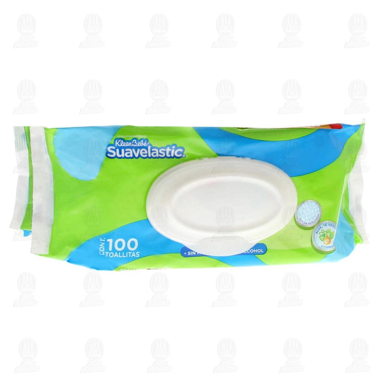 Comprar Pack Toallitas Húmedas KleenBebé, 100 pzas. en Farmacias Guadalajara