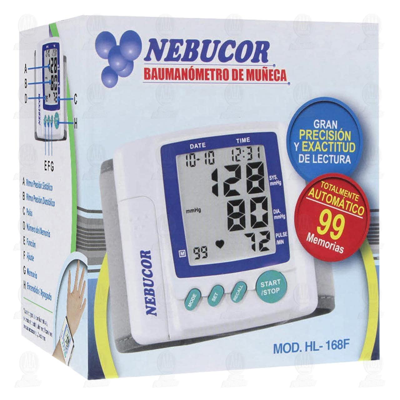 Baumanómetro Nebucor Hl168f Mano