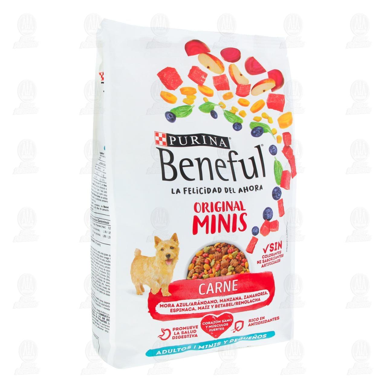 Croquetas Minis Beneful de Carne para Adulto Razas Pequeñas, 2 kg.