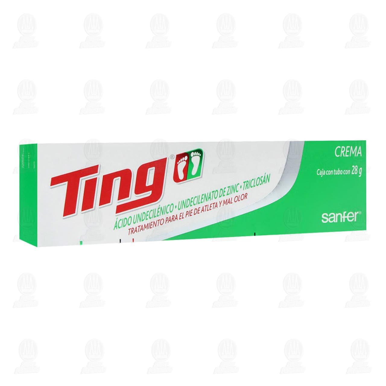 Comprar Ting 28gr Crema en Farmacias Guadalajara