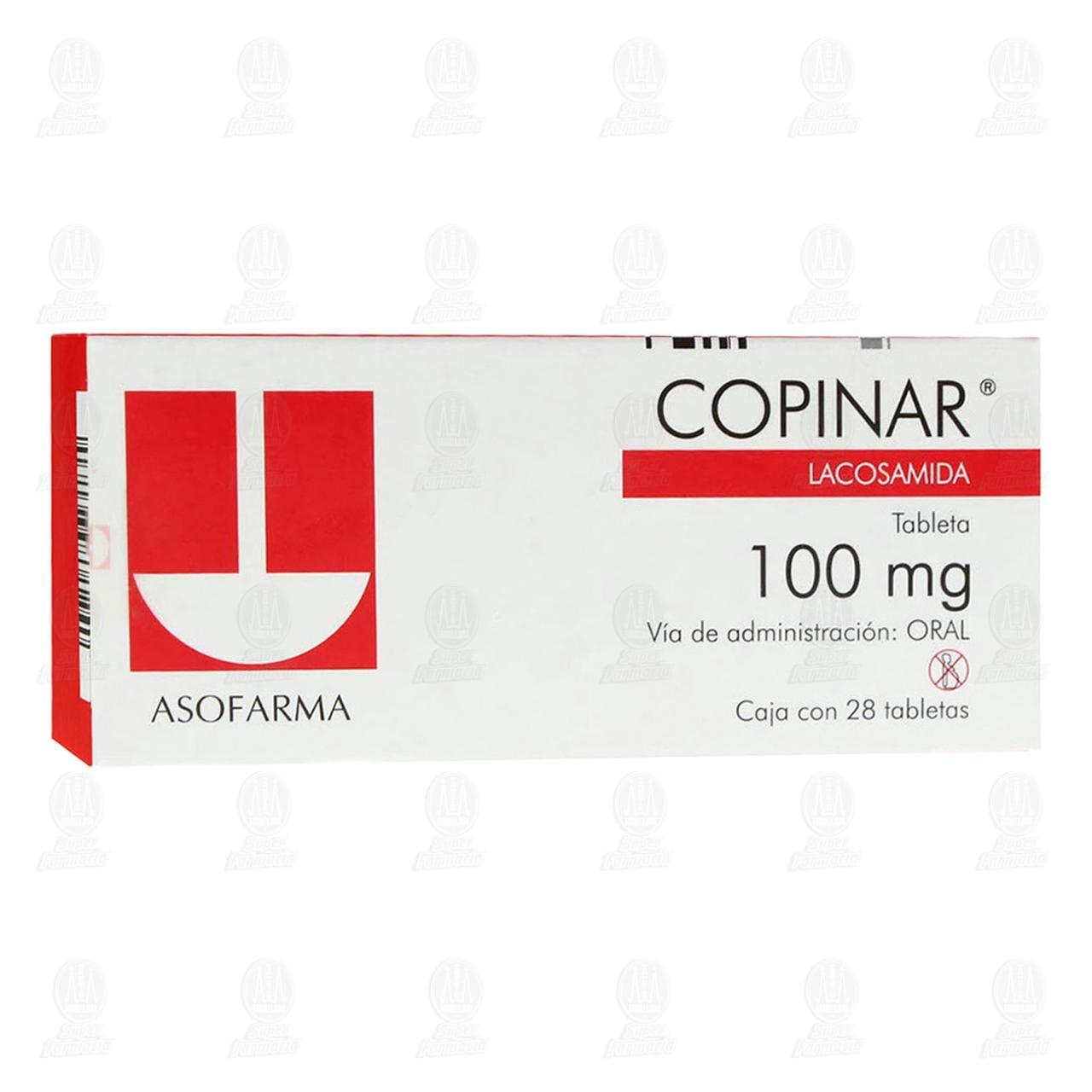 Comprar Copinar 100mg 28 Tabletas en Farmacias Guadalajara