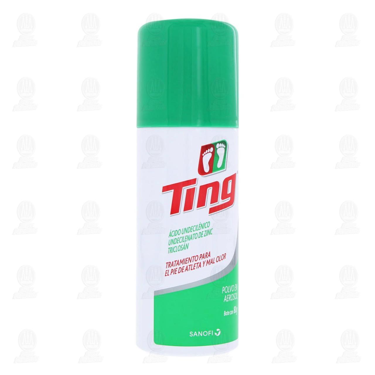 Comprar Ting 80gr Polvo en Aerosol en Farmacias Guadalajara