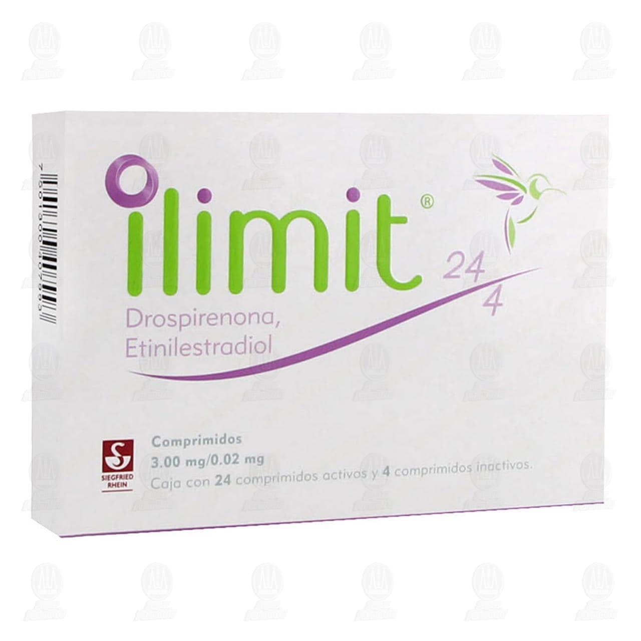 Ilimit 3.0mg/0.02mg 24 Comprimidos Activos y 4 Inactivos