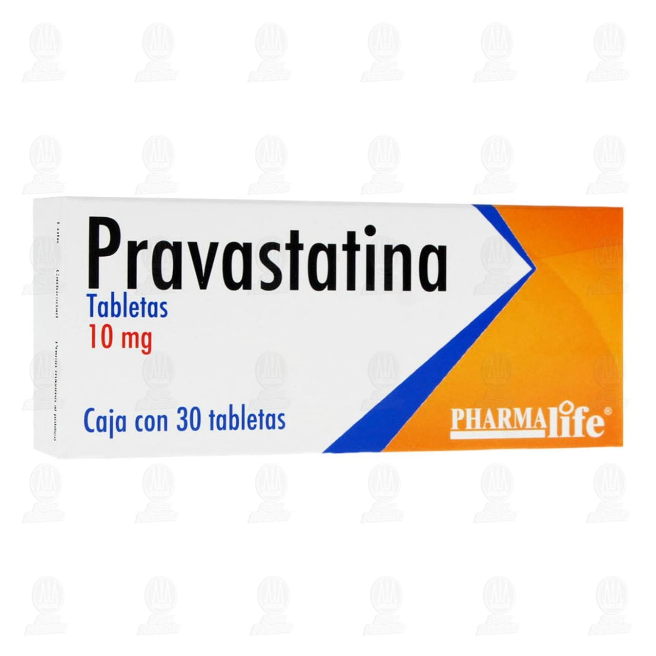 Comprar Pravastatina 10mg 30 Tabletas Pharmalife en Farmacias Guadalajara