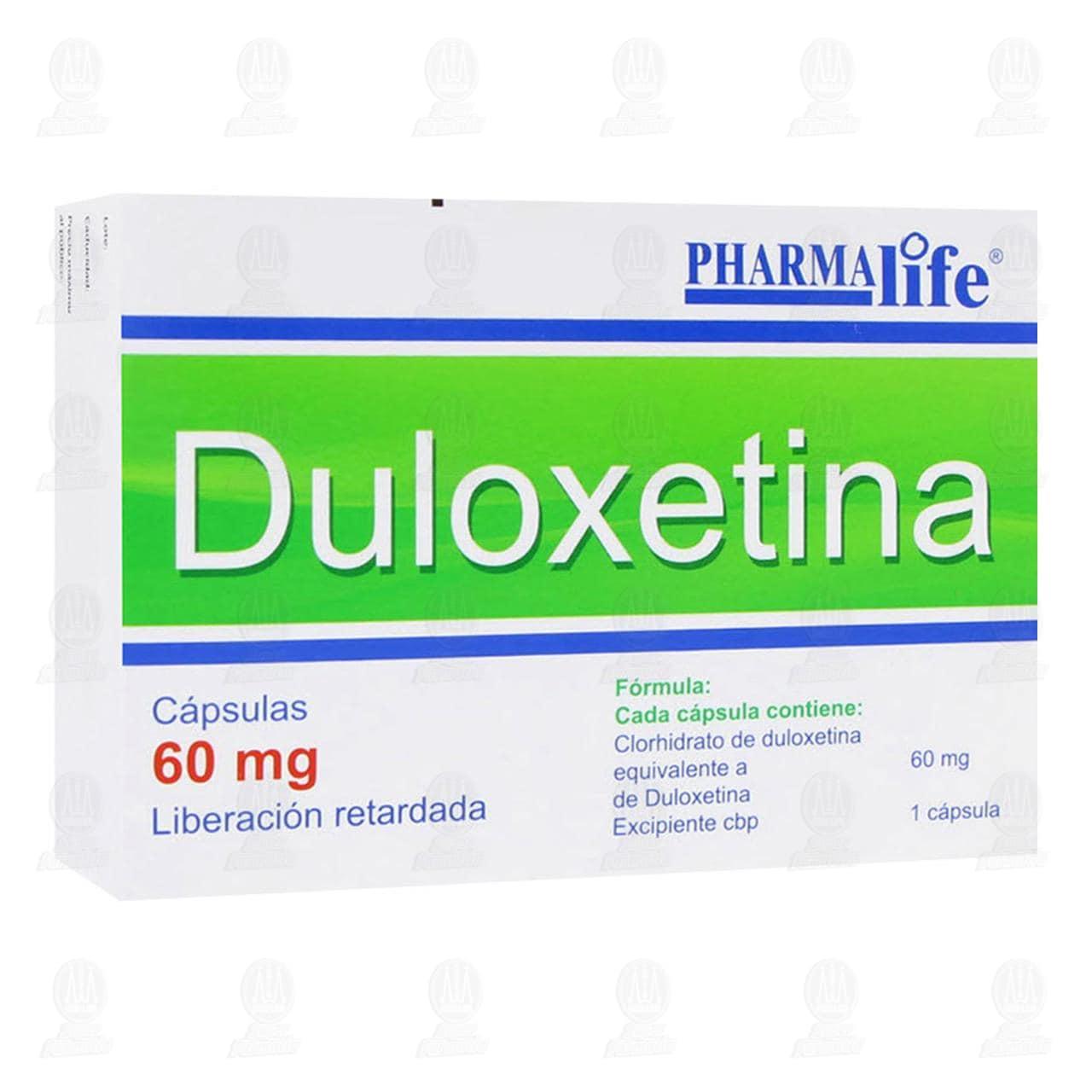 Comprar Duloxetina 60mg 14 Cápsulas Liberación Retardada Pharmalife en Farmacias Guadalajara