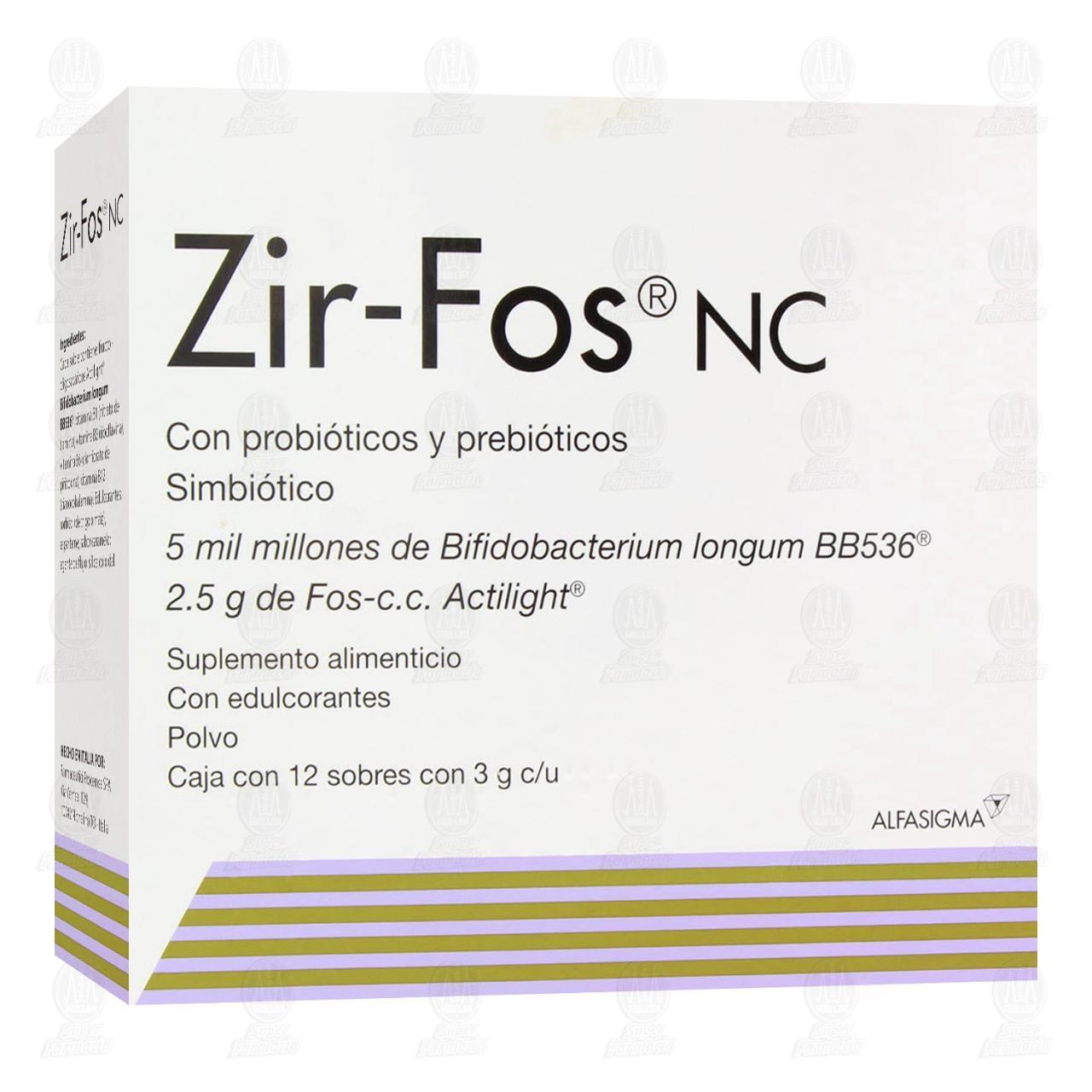 Zir-Fos 2.5g 12 Sobres