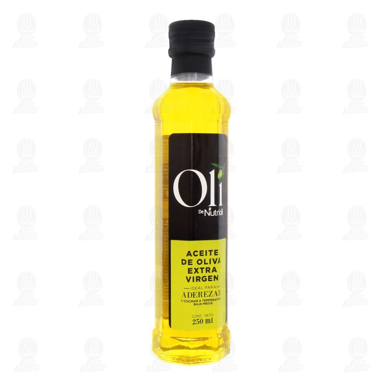 Aceite de Oliva Oli de Nutrioli Extra Virgen, 250 ml.