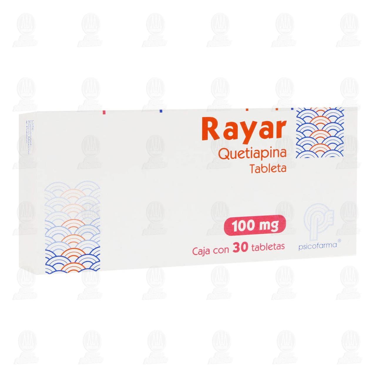 Comprar Rayar 100mg 30 Tabletas en Farmacias Guadalajara