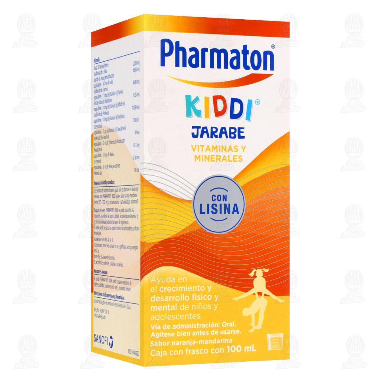 Comprar Pharmaton Kiddi Jarabe Multivitamínico Infantil 100ml en Farmacias Guadalajara