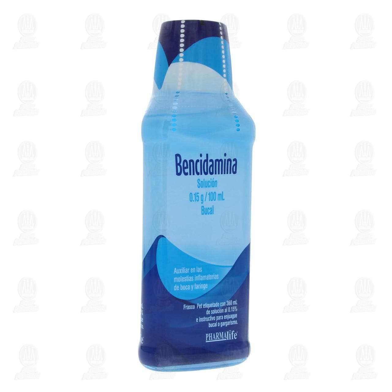 Comprar Bencidamina 0.15g/100ml Solución Bucal 360ml en Farmacias Guadalajara