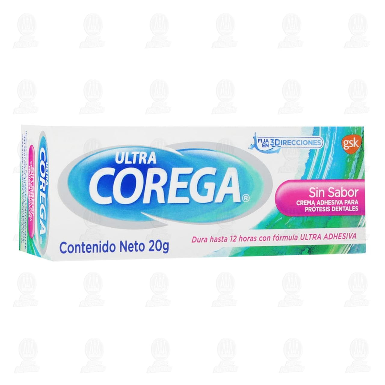 Comprar Crema Adhesiva Corega para Prótesis Dentales Sin Sabor, 20 gr. en Farmacias Guadalajara