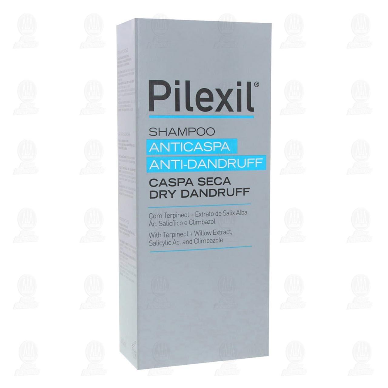 Comprar Pilexil Shampoo Anticaspa Seca, 300 ml. en Farmacias Guadalajara