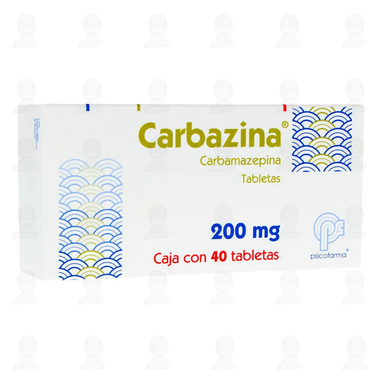 Comprar Carbazina 200mg 40 Tabletas en Farmacias Guadalajara