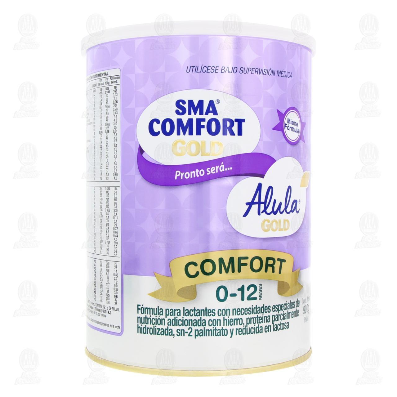 Comprar Fórmula Infantil SMA Comfort Gold en Polvo (Edad 0-12 Meses), 900 gr. en Farmacias Guadalajara