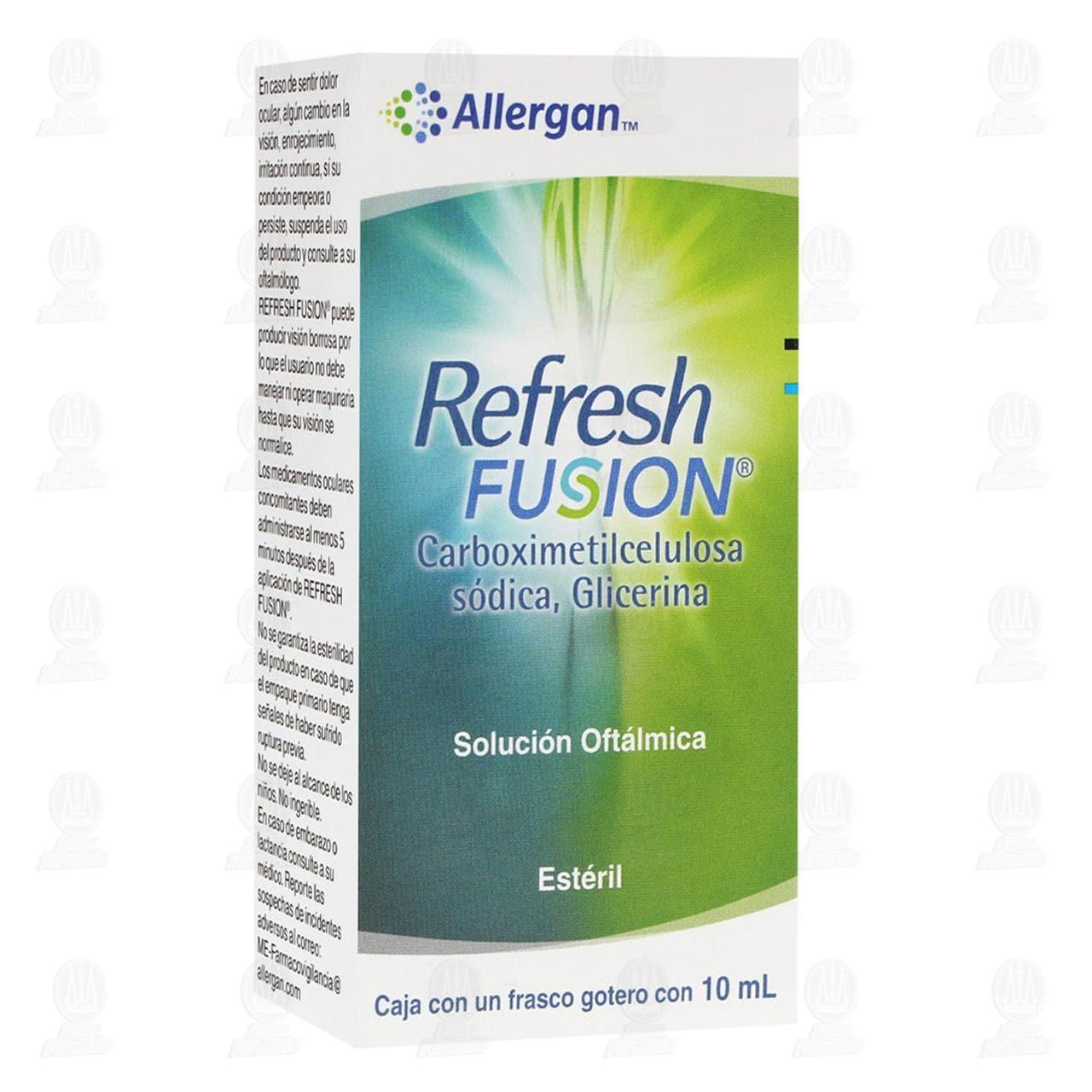Comprar Refresh Fusion 10ml Solución Oftálmica en Farmacias Guadalajara