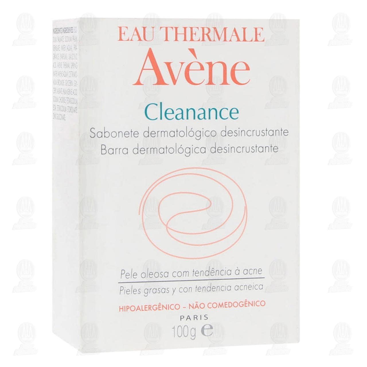 Comprar Avène Cleanance Barra Dermatológica Desincrustante, 100 gr. en Farmacias Guadalajara