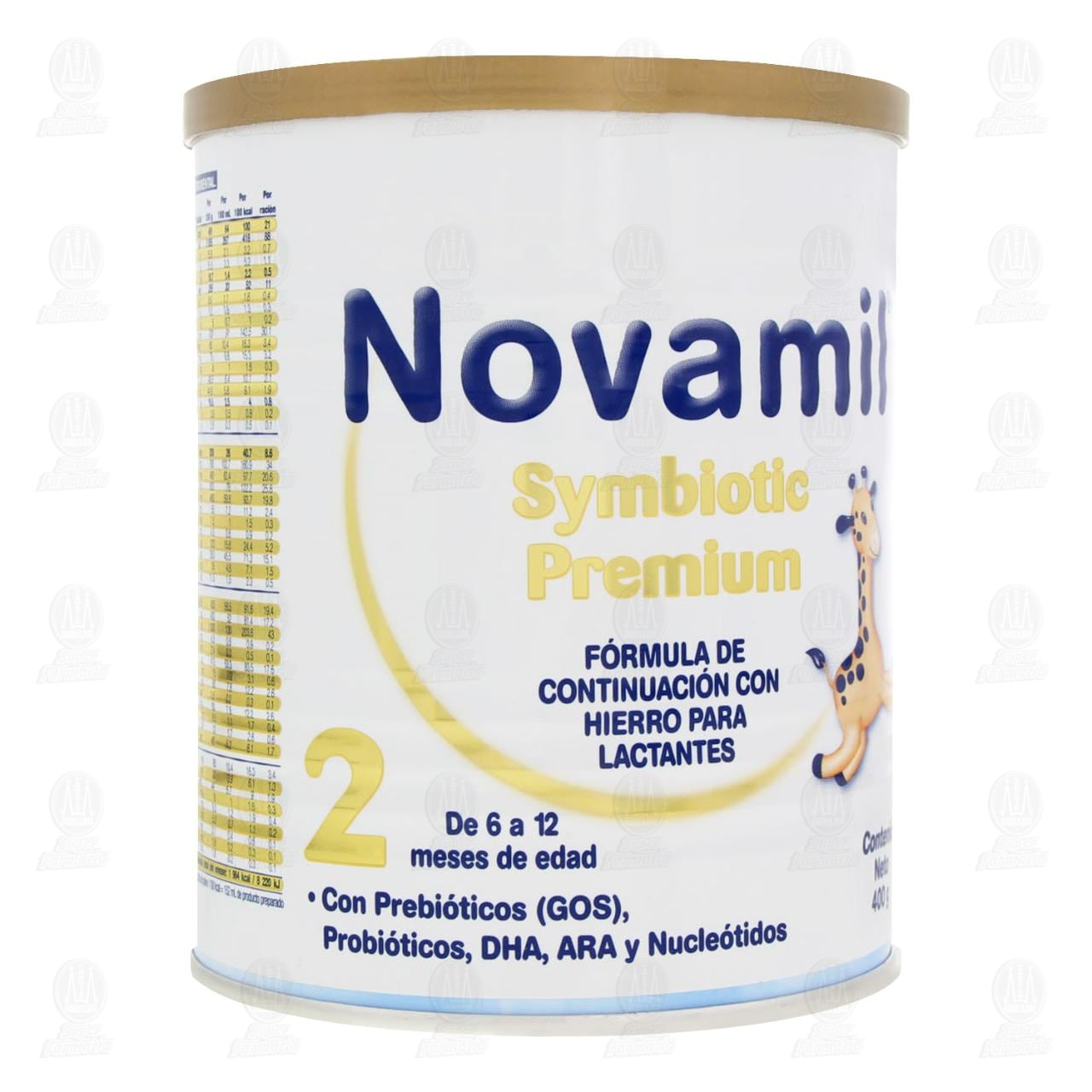 Comprar Fórmula Láctea Novamil Symbiotic Premium Etapa 2 en Polvo (Edad 6-12 Meses), 400 gr. en Farmacias Guadalajara