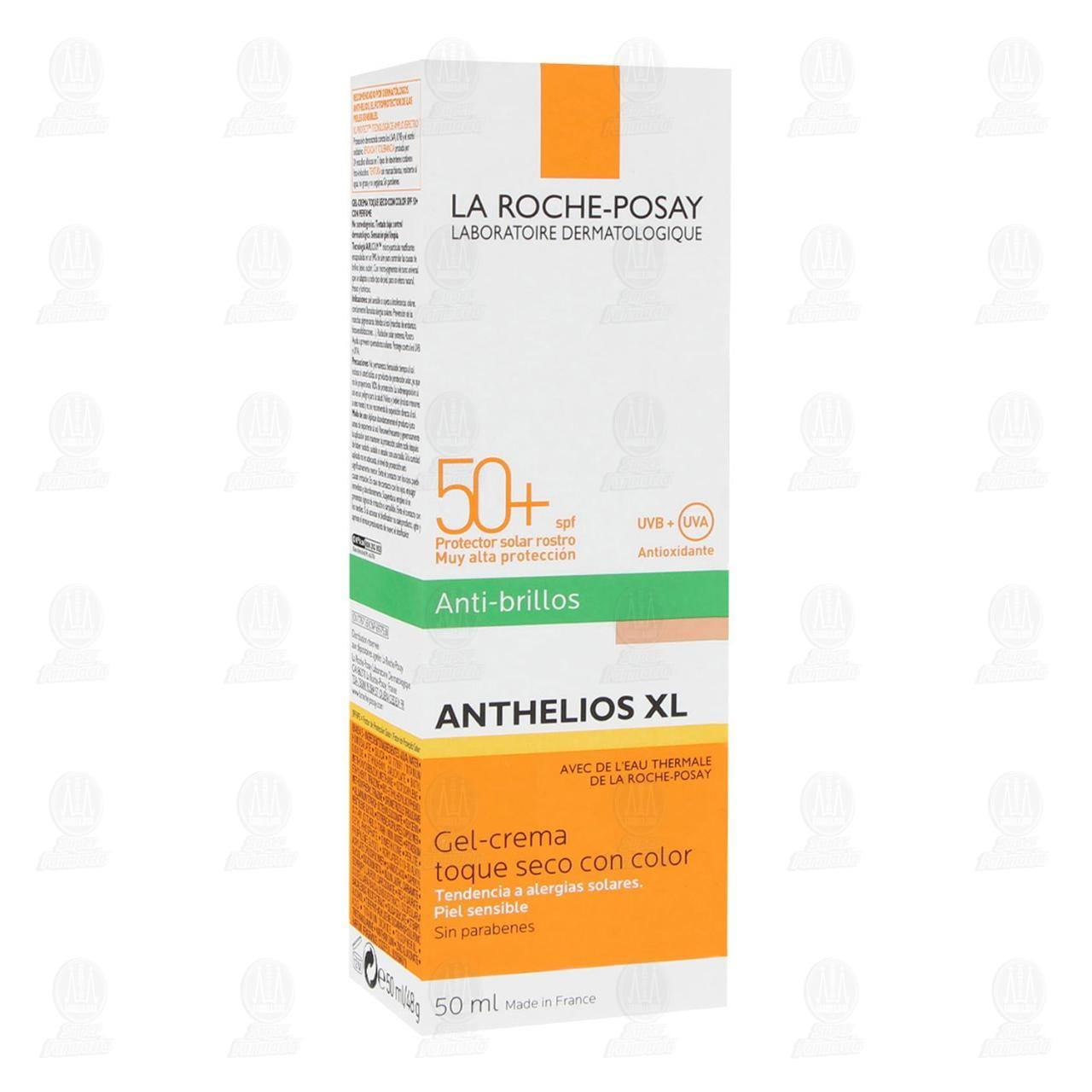 Comprar La Roche Posay Protector Solar Anthelios XL Toque Seco Con Color FPS 50+, 50 ml. en Farmacias Guadalajara