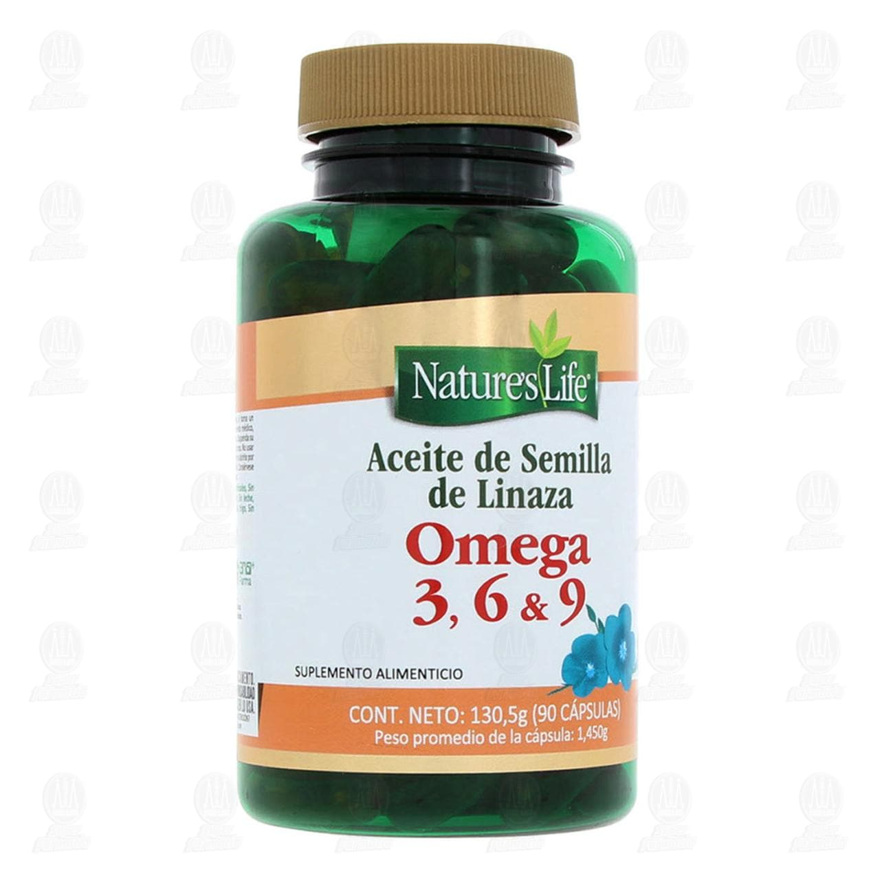 Comprar Omega 3,6 Y 9 Nature´s Life en Farmacias Guadalajara