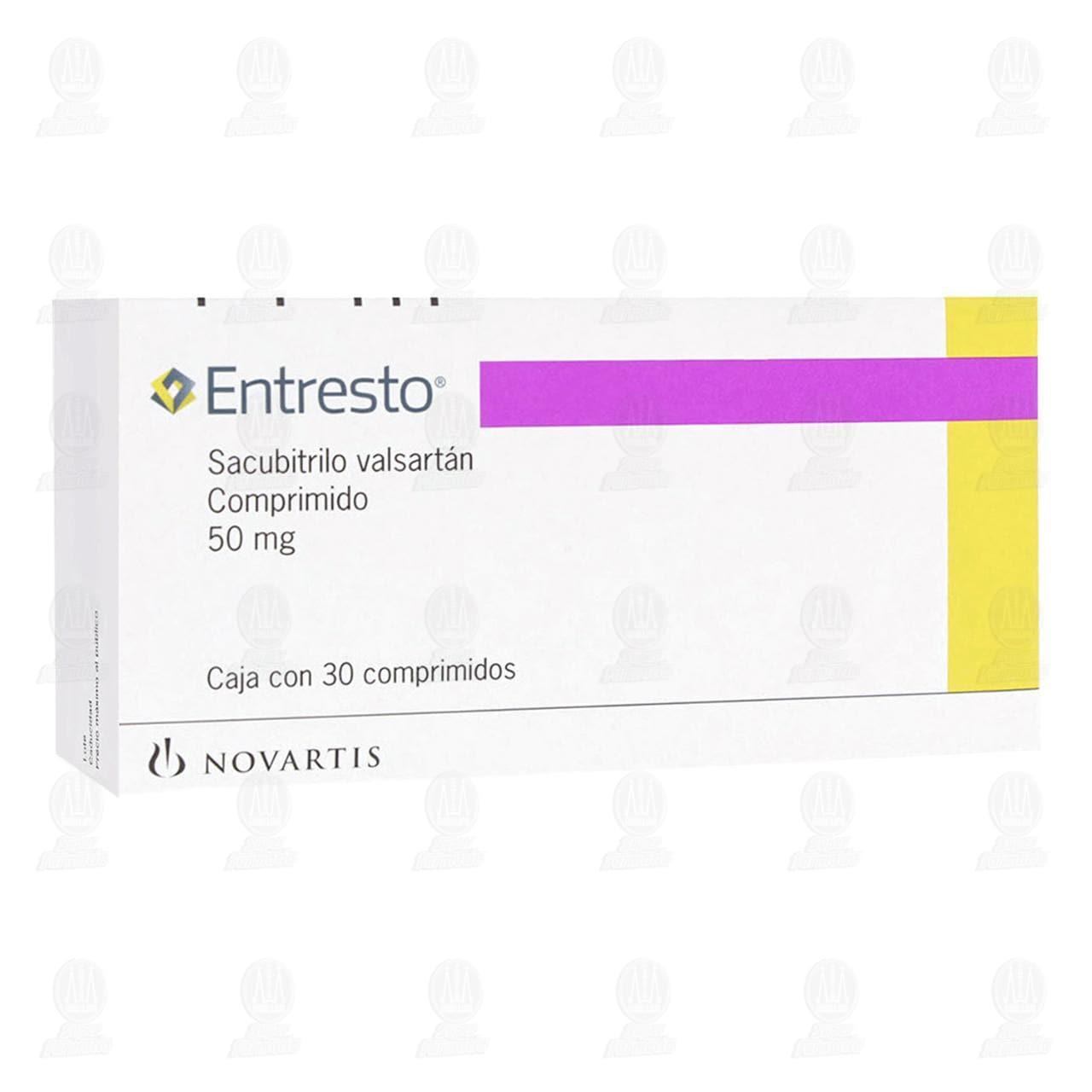 Comprar Entresto 50mg 30 Comprimidos en Farmacias Guadalajara