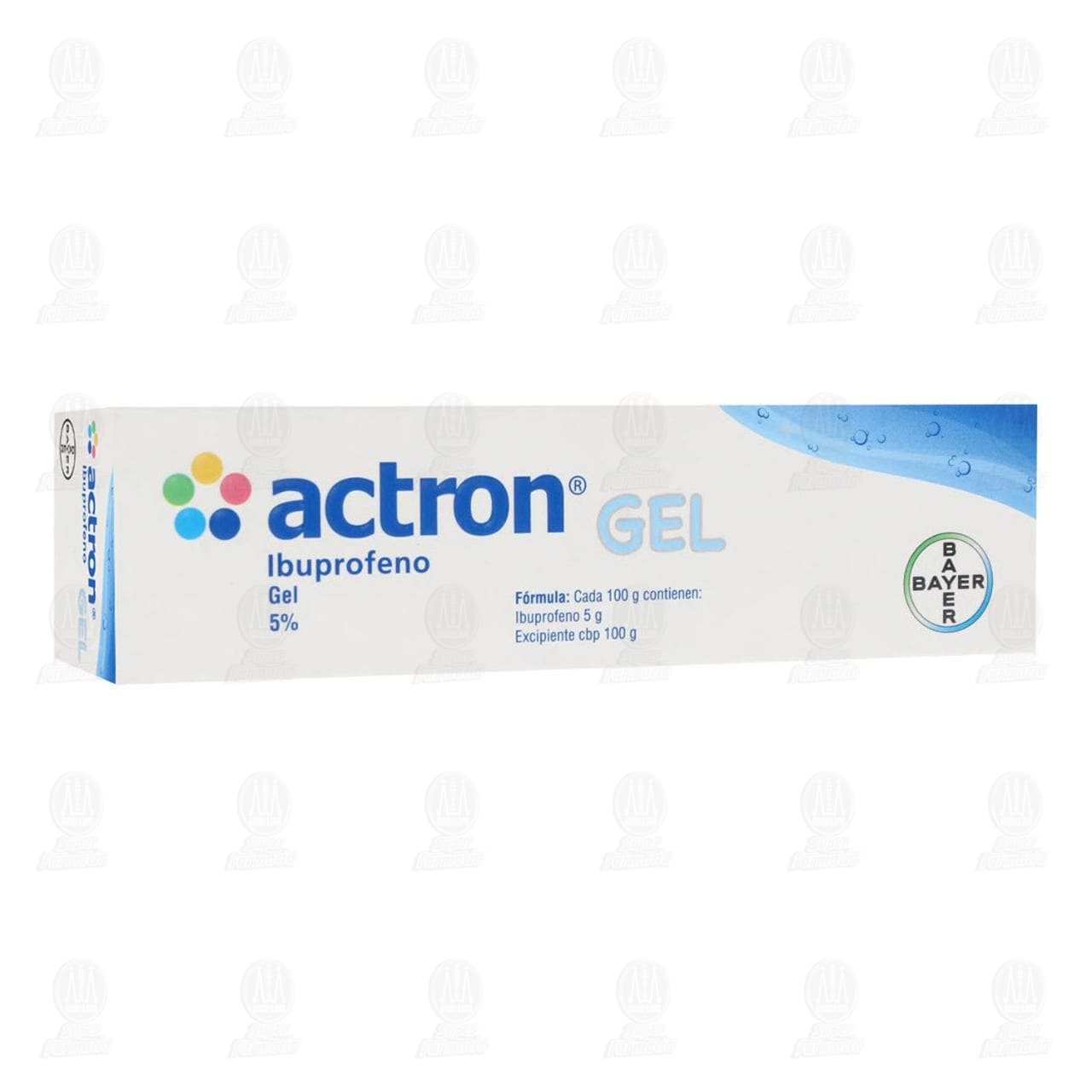 Comprar Actron 5% 100gr Tubo Gel en Farmacias Guadalajara