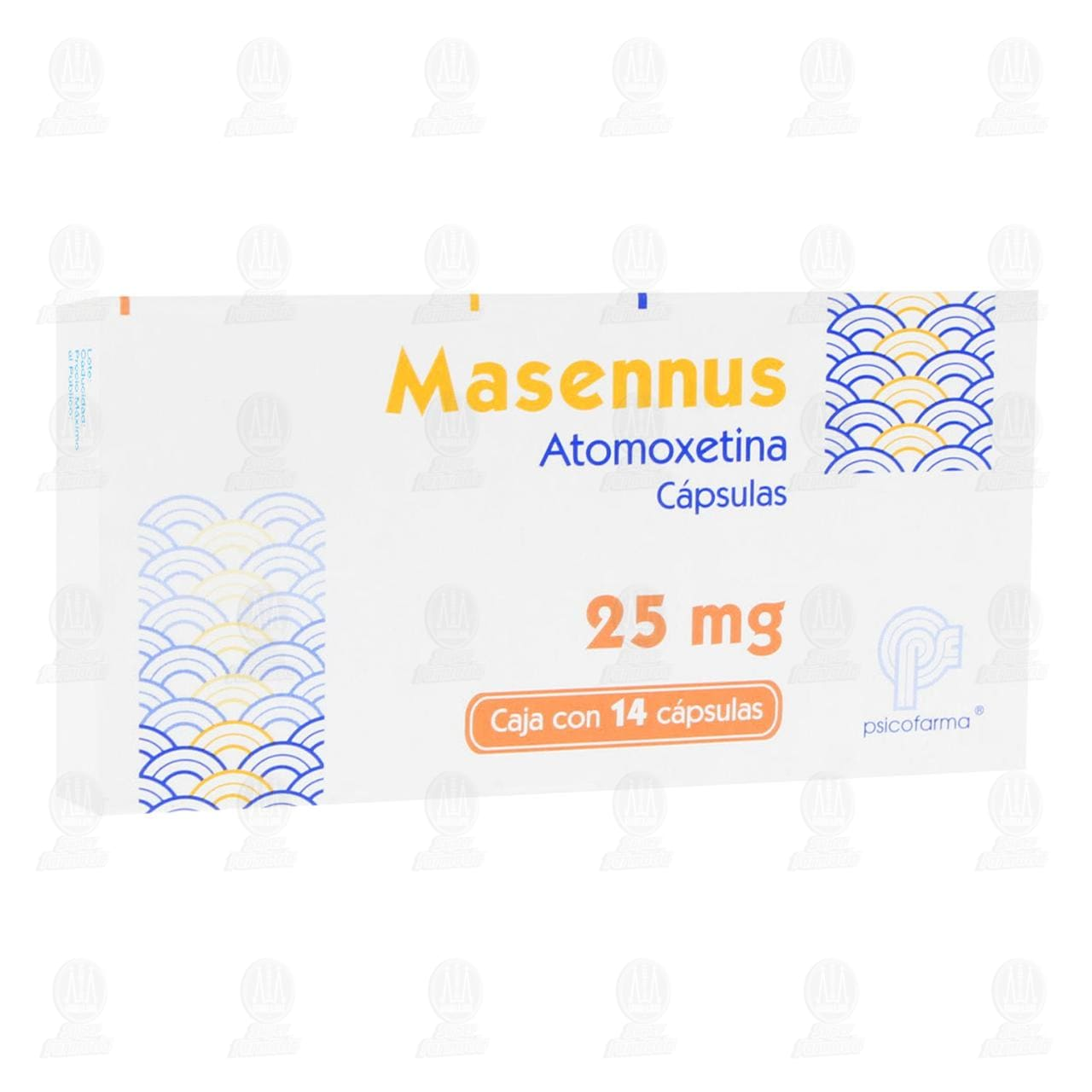 Comprar Masennus 25mg 14 Cápsulas en Farmacias Guadalajara