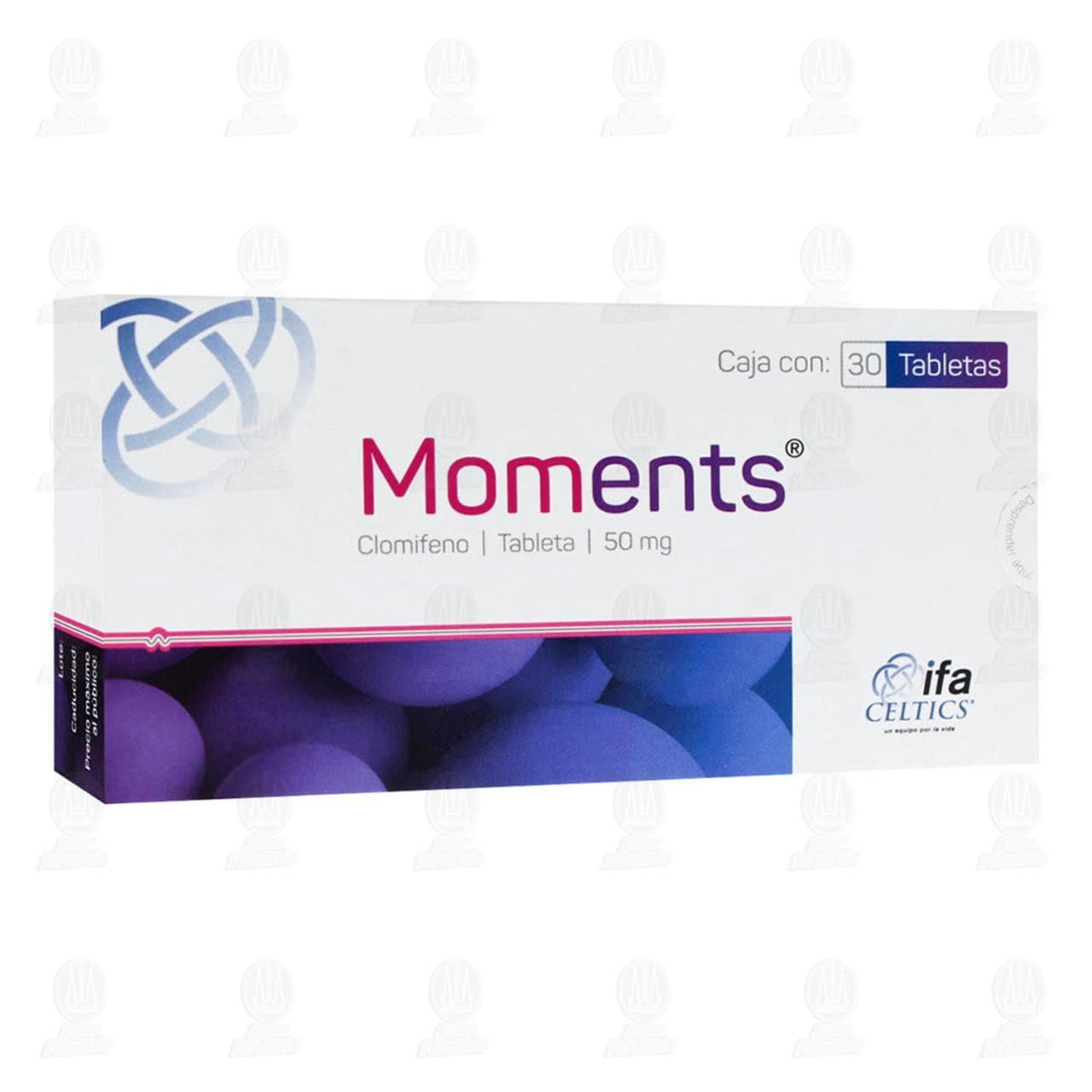 Comprar Moments 50mg 30 Tabletas en Farmacias Guadalajara