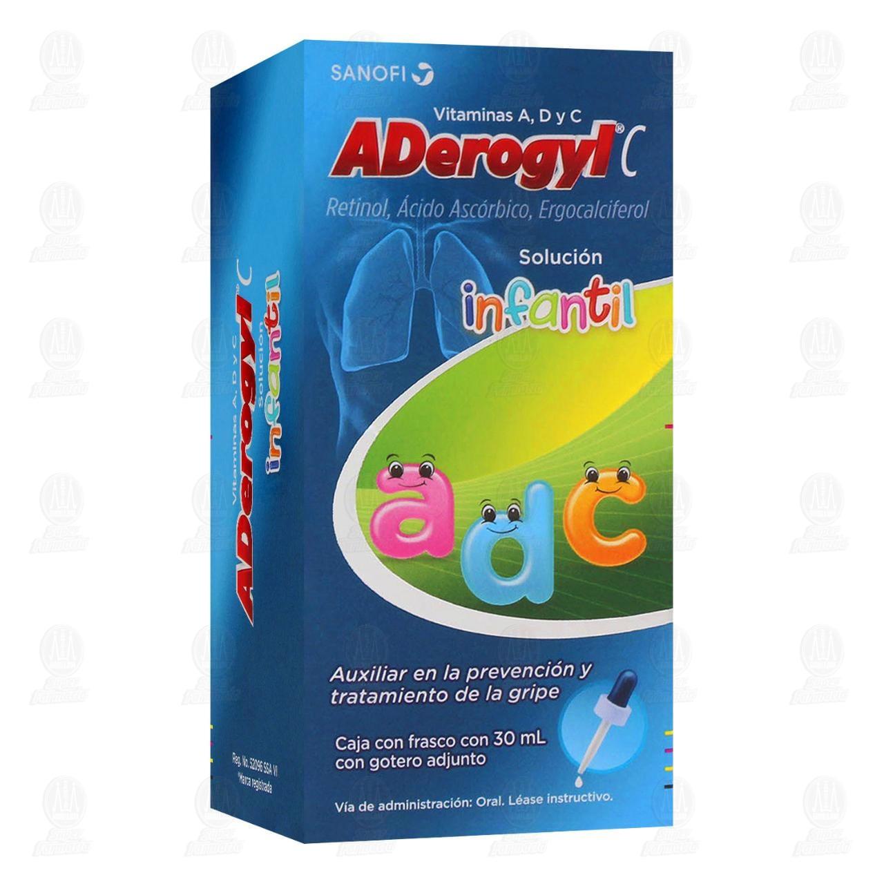 Aderogyl C Prevención de la Gripa Suspensión Infantil 30ml