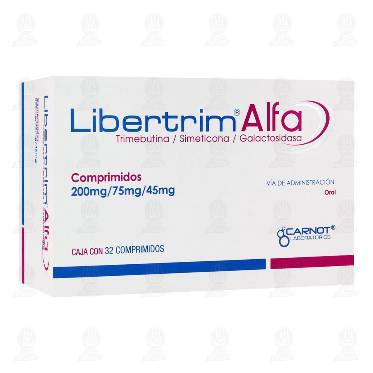 Comprar Libertrim Alfa 200mg/75mg/45mg 32 Comprimidos en Farmacias Guadalajara