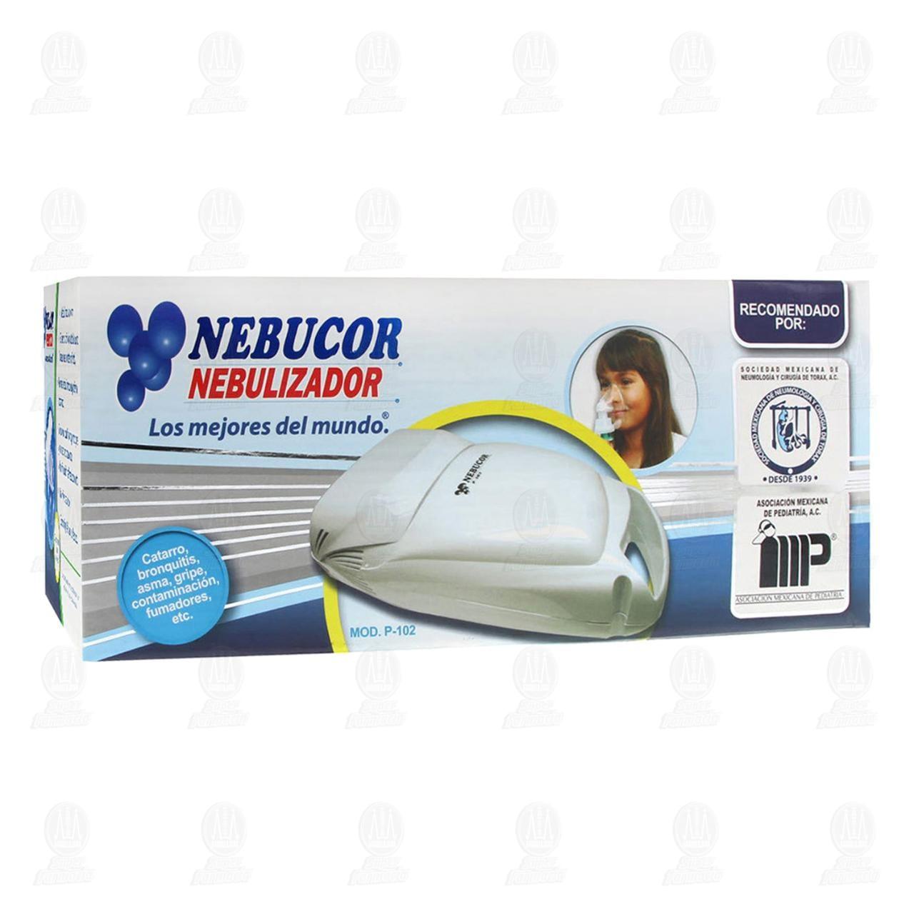 Nebulizador Nebucor De Compresor P102
