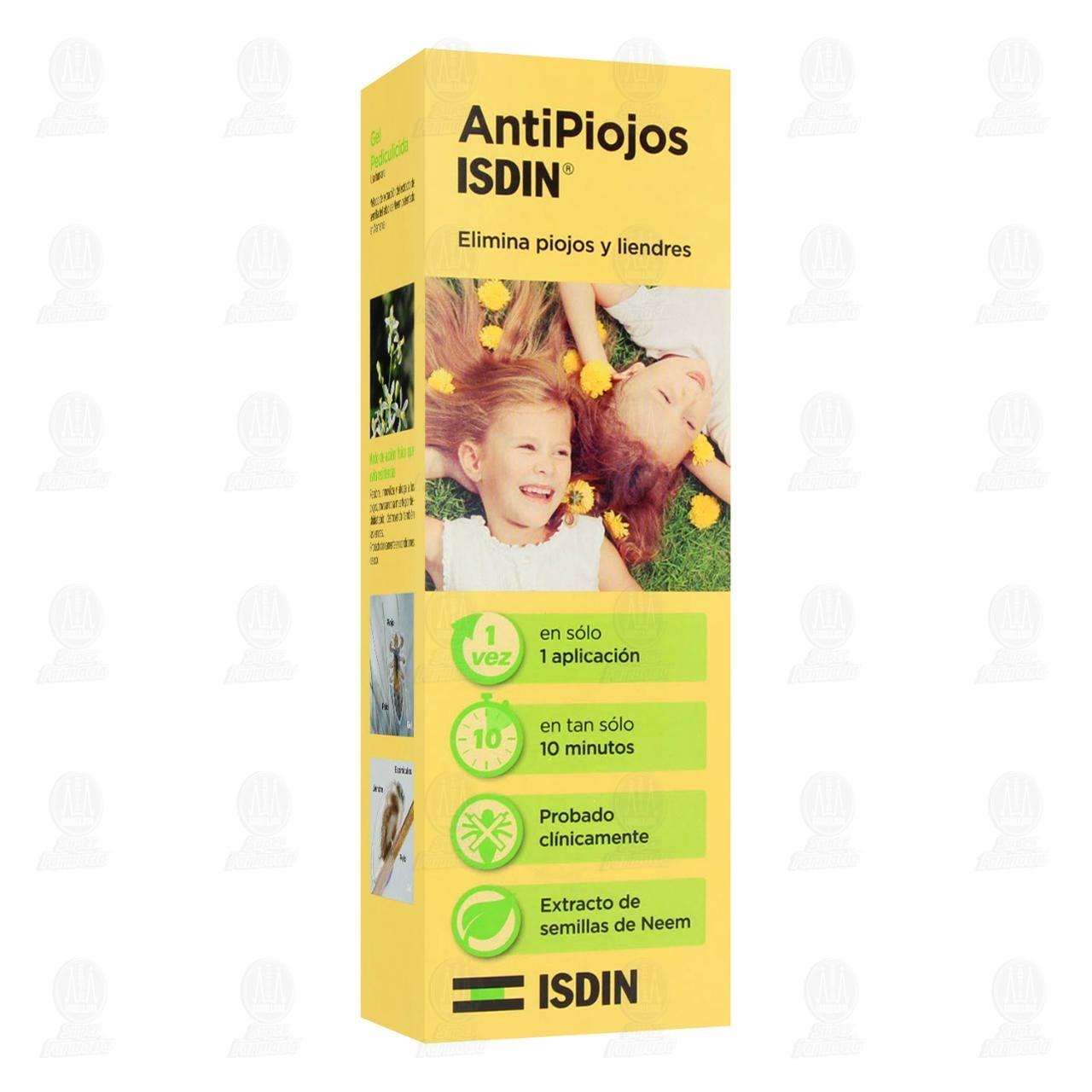 Comprar Antipiojos Isdin Gel Pediculicida, 100 ml. en Farmacias Guadalajara