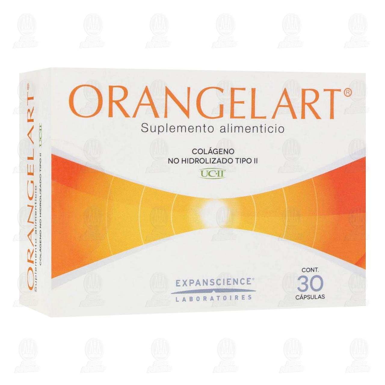 Comprar OrangelArt 200mg 30 Cápsulas en Farmacias Guadalajara